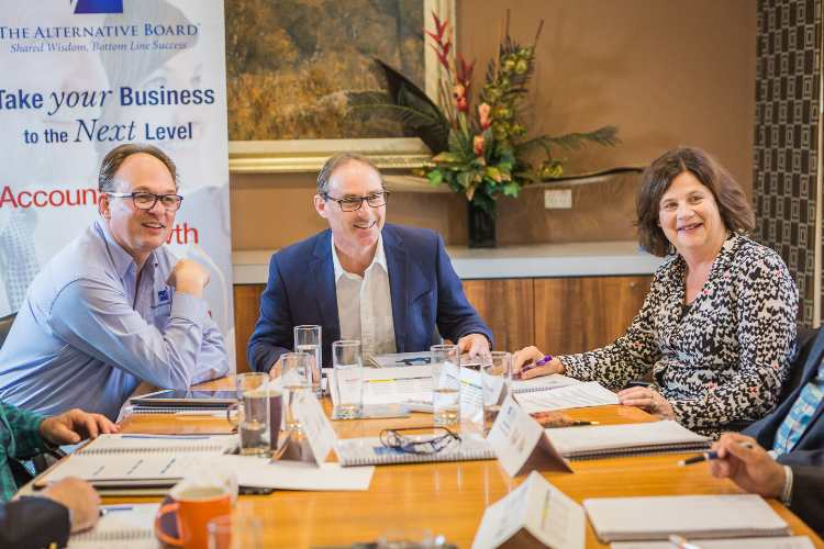 Australian Business Owner is facilitating a Board Meeting