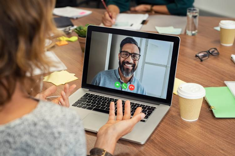 Virtual consulting meeting with a TAB Member